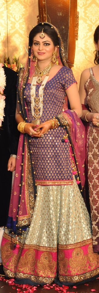 Sabyasachi Mukherjee Lengha - like if the top was smaller