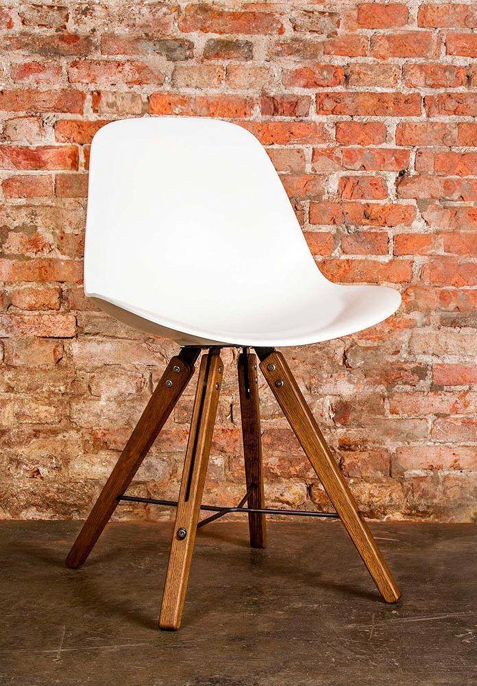 Deze combinatie van materialen oogt modern en industrieel.