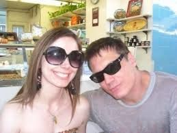 Actor Holt McCallany and girlfriend Nicole Wilson (c) 2015