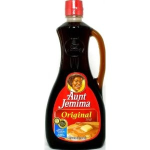 Aunt Jemima Pancake Syrup: My mom and Dad made the best pancakes...and we had to use Aunt Jemima!