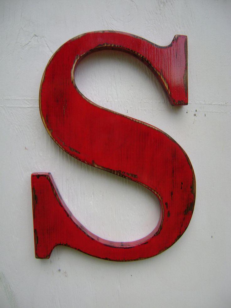12 migliori immagini lettere di legno di idee di legno su - Bricolage legno idee ...