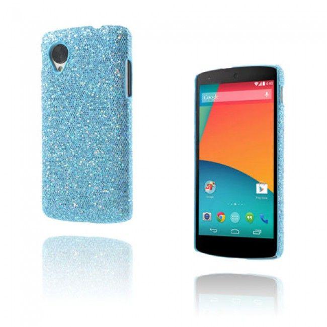 Glitter (Sininen) Google Nexus 5 Suojakuori - http://lux-case.fi/google-nexus-5-suojakuoret.html
