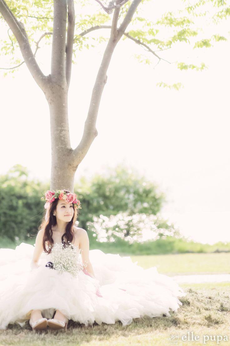 京都の街と滋賀の自然*和装&洋装前撮り |*ウェディングフォト elle pupa blog*