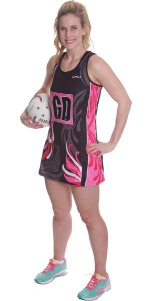 Netball Uniforms | Netball Aline Dress | #Netball #NetballUniforms #NetballDresses