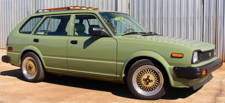 Learn more about Integra Swapped: Rutledge Wood's 1983 Honda Civic Wagon on Bring a Trailer, the home of the best vintage and classic cars online.