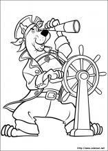 Dibujos de Scooby-Doo para colorear en Colorear.net