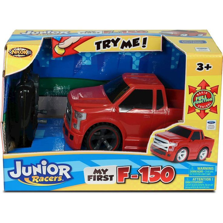 Nkok - Junior Racer My First F-150 RC Vehicle - Red, 80021
