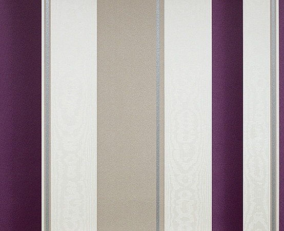 purple striped wall, like this but teal and brown...