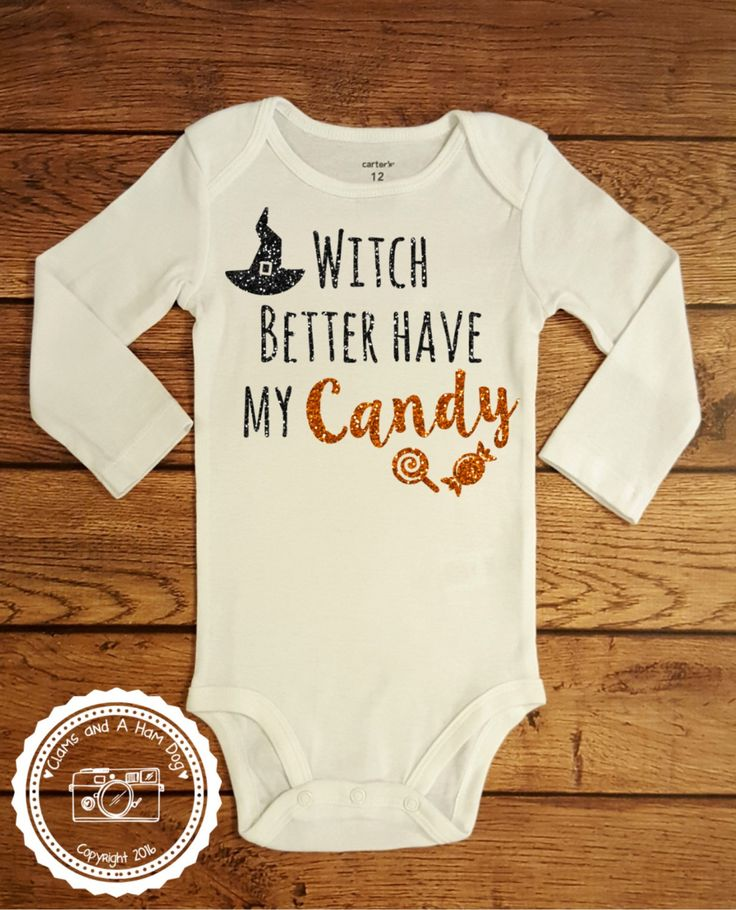 Halloween Shirt Long Sleeve- Trick or Treat outfit- Witch better have my Candy…