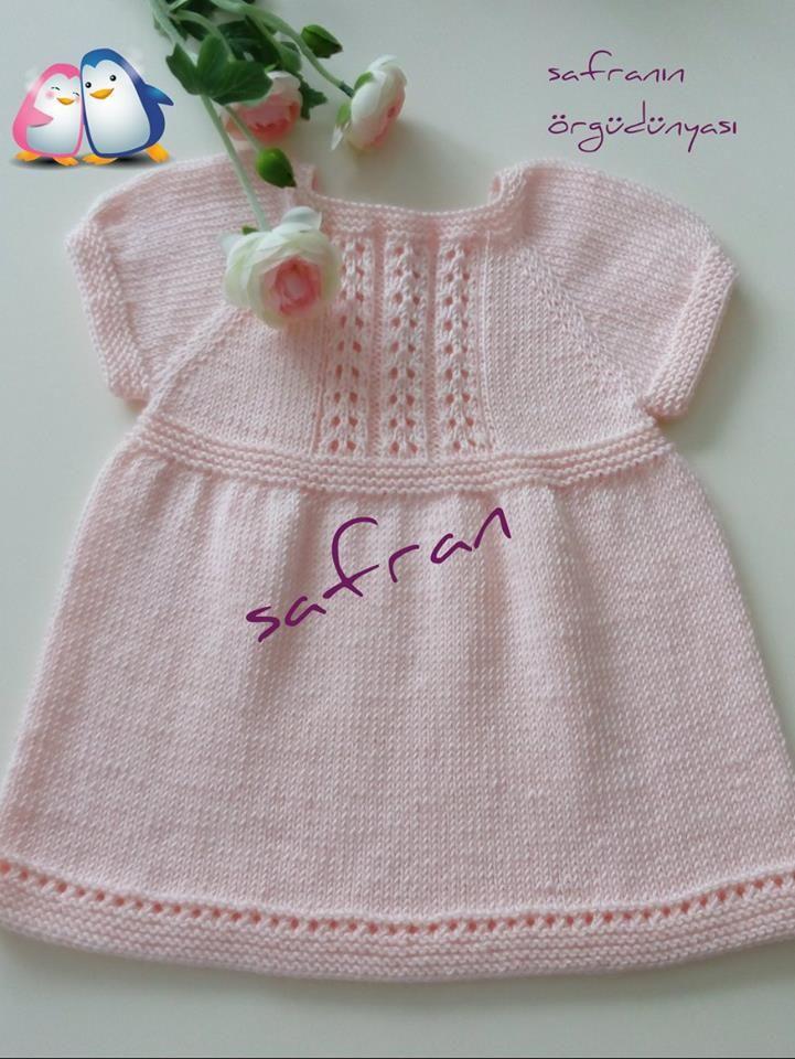 Kolay Bebek Elbisesi Anlatimli,Kolay Bebek Elbisesi Açiklamali,Kolay Bebek Elbisesi Örgüsü,Kolay Bebek Elbisesi Yapilişi,Kolay Bebek Elbisesi Yapimi