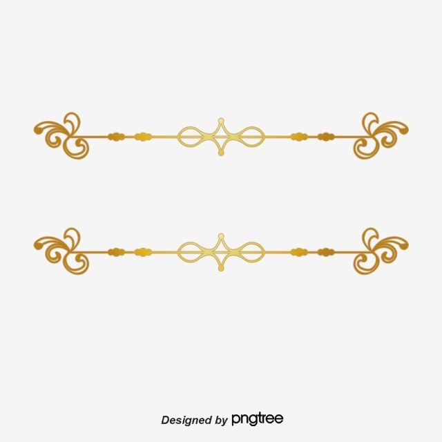 Continental Gold Line Gold Vector Line Vector Vector Line Spacing Png Transparent Clipart Image And Psd File For Free Download Graphic Design Background Templates Clip Art Gold Line