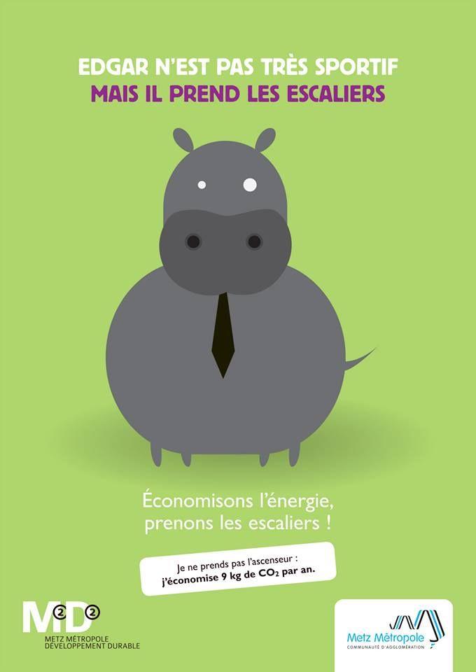 [ Communication interne ] La campagne Ecogestes M2D2 - Metz Métropole #developpementdurable #capcom13