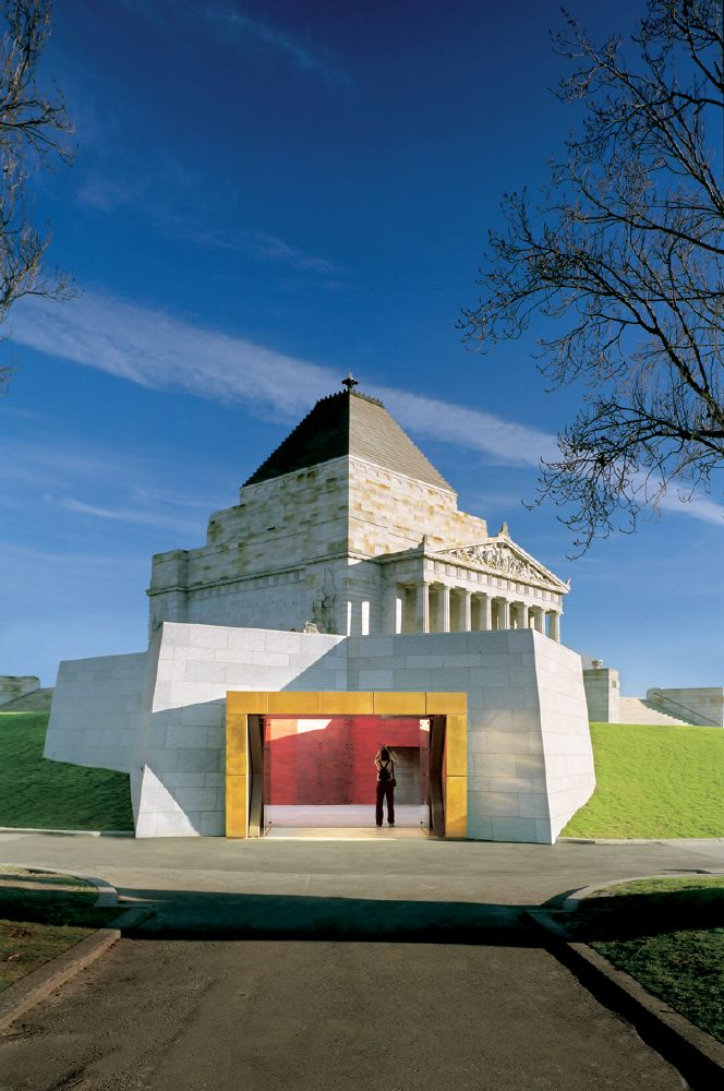 Shrine of Remembrance | Melbourne - Completed Visitor Centre