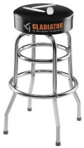 Gladiator GarageWorks GAAC30STPB 30-Inch Stool by Gladiator Garage Works. $104.99. From the Manufacturer                Take a load off your feet on the Gladiator stool, the perfect complement to your Gladiator workbench. The stools are great for projects where you want to sit while you work and also make a great place to cool down and enjoy a drink after working out or mowing the lawn. Add more than one and turn your garage into a comfortable spot for hanging out with your ...