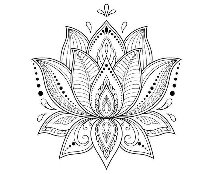 1001 + idées de tatouage fleur de lotus et son symbolisme ...