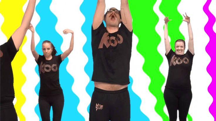 Koo Koo Kanga Roo - Wiggle It: House Party Dance-A-Long Workout
