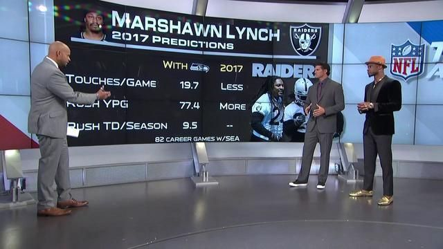 Projecting Marshawn Lynch's 2017 stats