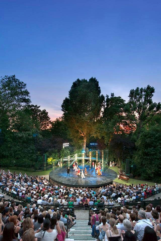 Regents Park Open Air Theater. Open air theater