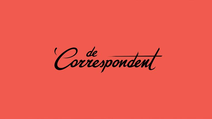 De Correspondent, Website -Recognized with the iF DESIGN AWARD 2015, Discipline Communication (Brand Identity)