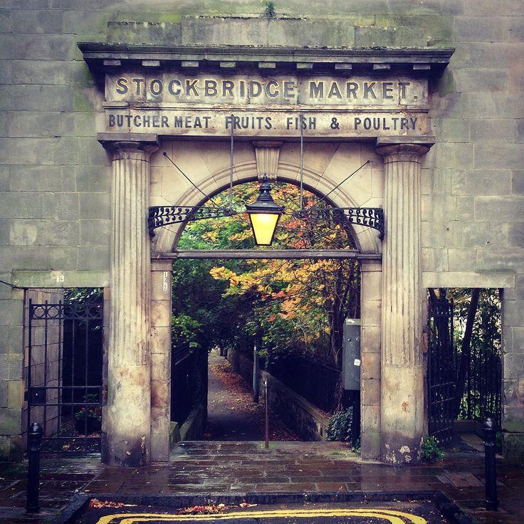Stockbridge Market Arch #Autumn #Stockbridge #Edinburgh #SCOTLAND