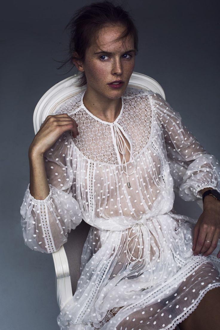 Blog Love: From Zanita.com, the Zimmermann Belle Dot Web Dress from Resort Swim 16. || @sommerswim