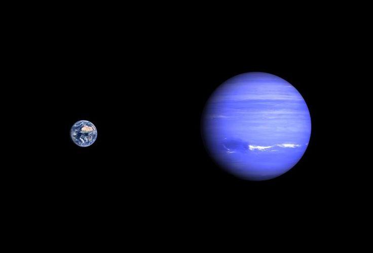Netuno Distancia do sol(4,504.300.000) Temperatura(-278c) Rotação(16,1 dias) Translação(164,8 anos) Netuno tem 14 satélites naturais. Diâmetro(49,572Km)                 Lucas e Matheus