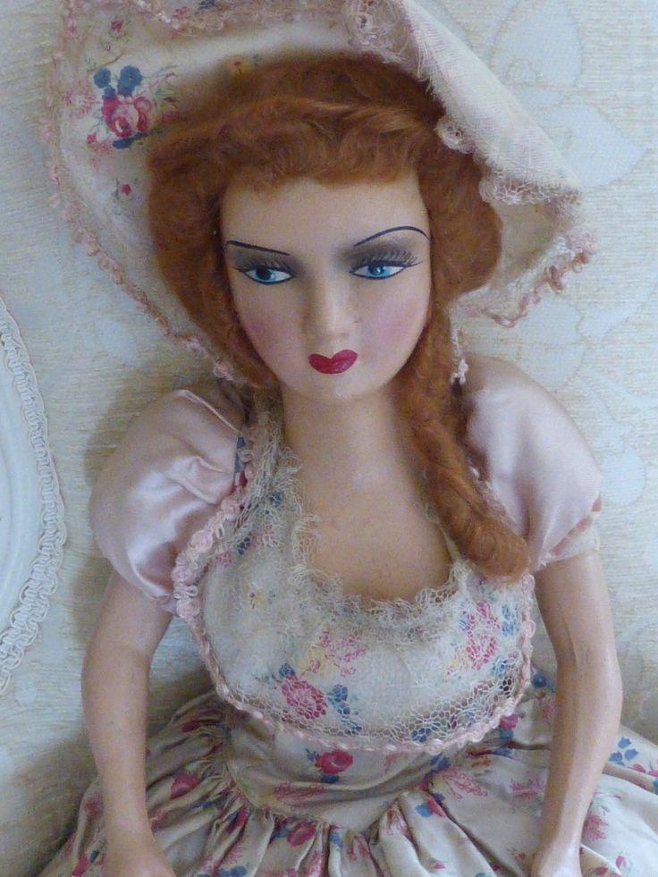 30s boudoir doll