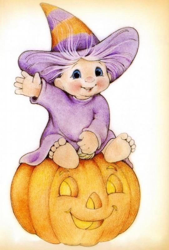 Ruth Morehead--halloween