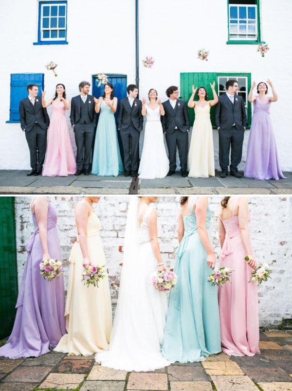 pastel wedding http://navyblur.co.uk/