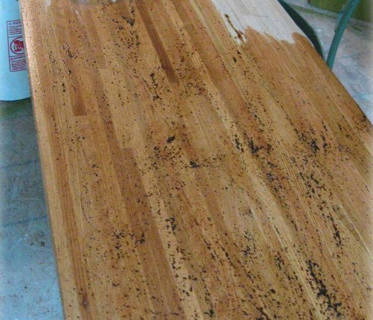 die besten 25 altholz tischplatte ideen auf pinterest diy aquariumstand citronella fackeln. Black Bedroom Furniture Sets. Home Design Ideas