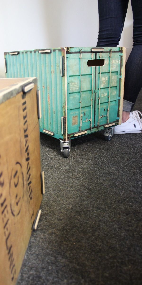 Rollbox Container Turkis Werkhaus Container Design Container