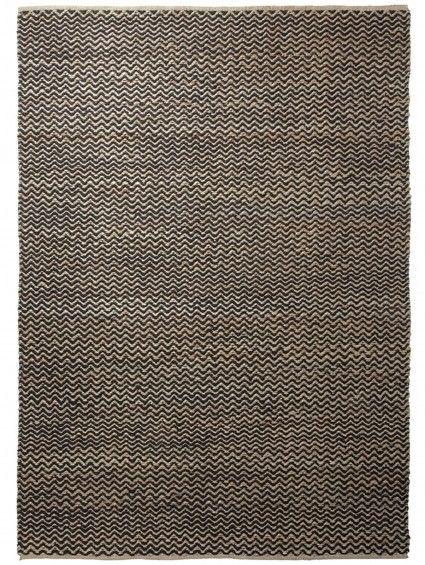 Flachgewebe Teppich Patna Braun