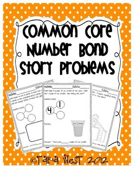 Number Bonds {Story Problems}