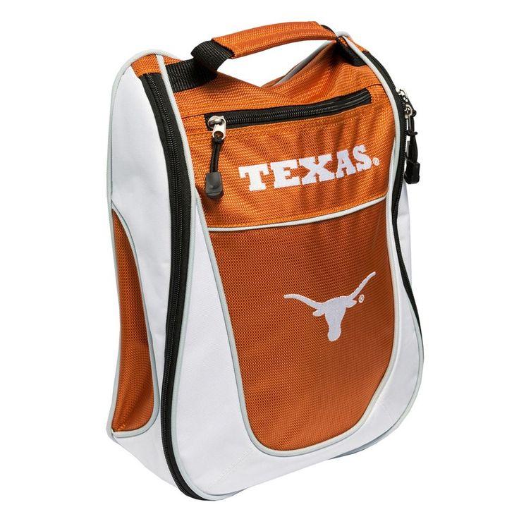 Team Golf Texas Longhorns Golf Shoe Bag, Multicolor