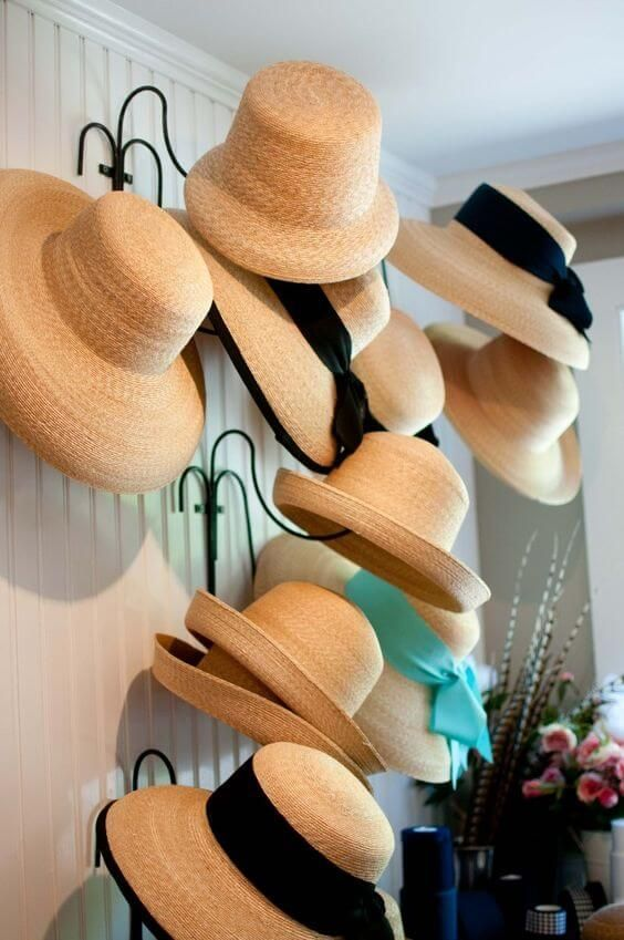 f75d5320916 Check out these DIY hat rack ideas to hang your hats and caps on