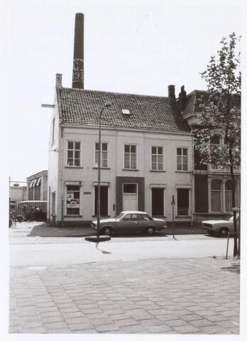 1978, Kantoor van wollenstoffenfabriek Gebroeders Franken aan de Goirkestraat nr 80. (hoek Bisschop Bekkerslaan)