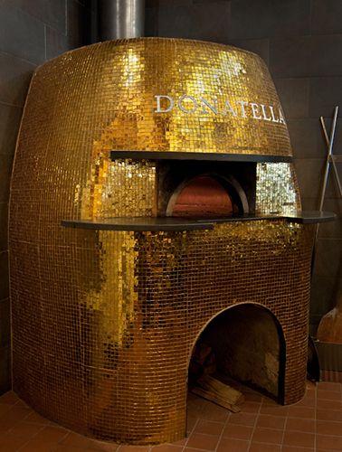 Artistic Tile    Donatella custom pizza oven