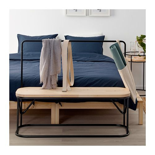 HJRTELIG Bench With Clothes Rack