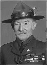 """1896- Boy Scouts founder Robert Baden-Powell writes, """"The stupid inertness of the puzzled negro is duller than that of an ox; a dog would grasp your meaning in one-half the time. Men & Brothers! They may be brothers, but they are certainly not men."""" Powell will continue to promote racism, still trying to link to Scouts with the Hitler Youth as late as 1937."""