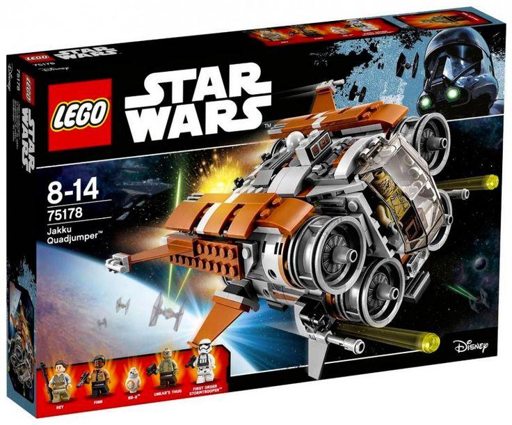 LEGO Star Wars 75178 : Le Quadjumper de Jakku - Juin 2017
