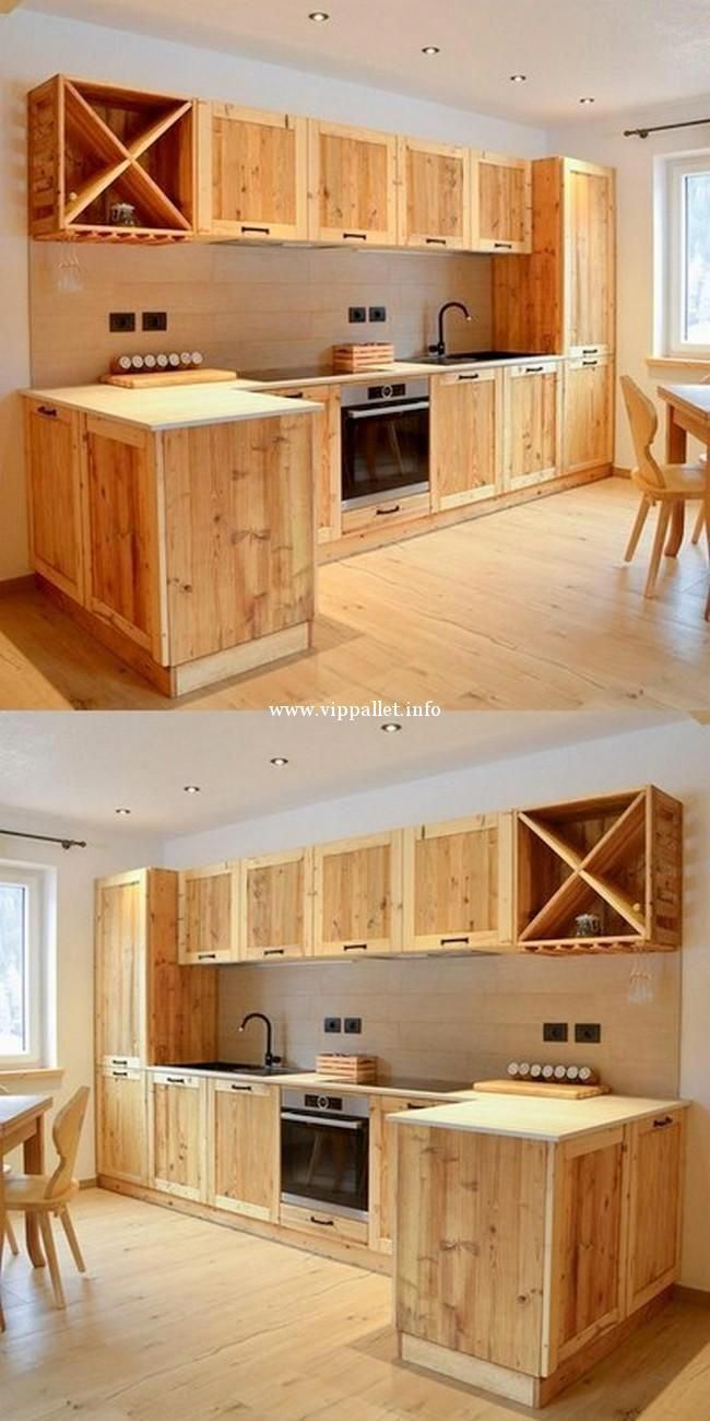 Old Pallets Furniture Plans Diywoodprojects Pallet Furniture Plans Pallet Kitchen Cabinets Pallet Kitchen
