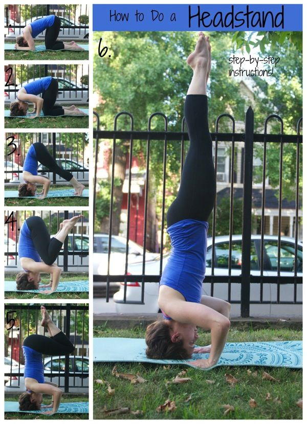 If you've ever wanted to know how to do a headstand, read this! There is an option for beginners and advanced learners.