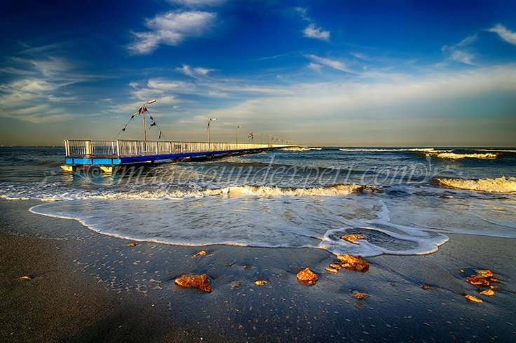 hdr pontoon beach mamaia constanta romania