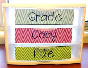 Grade, Copy, File