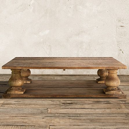Hudson 60 Rectangle Coffee Table In Natural