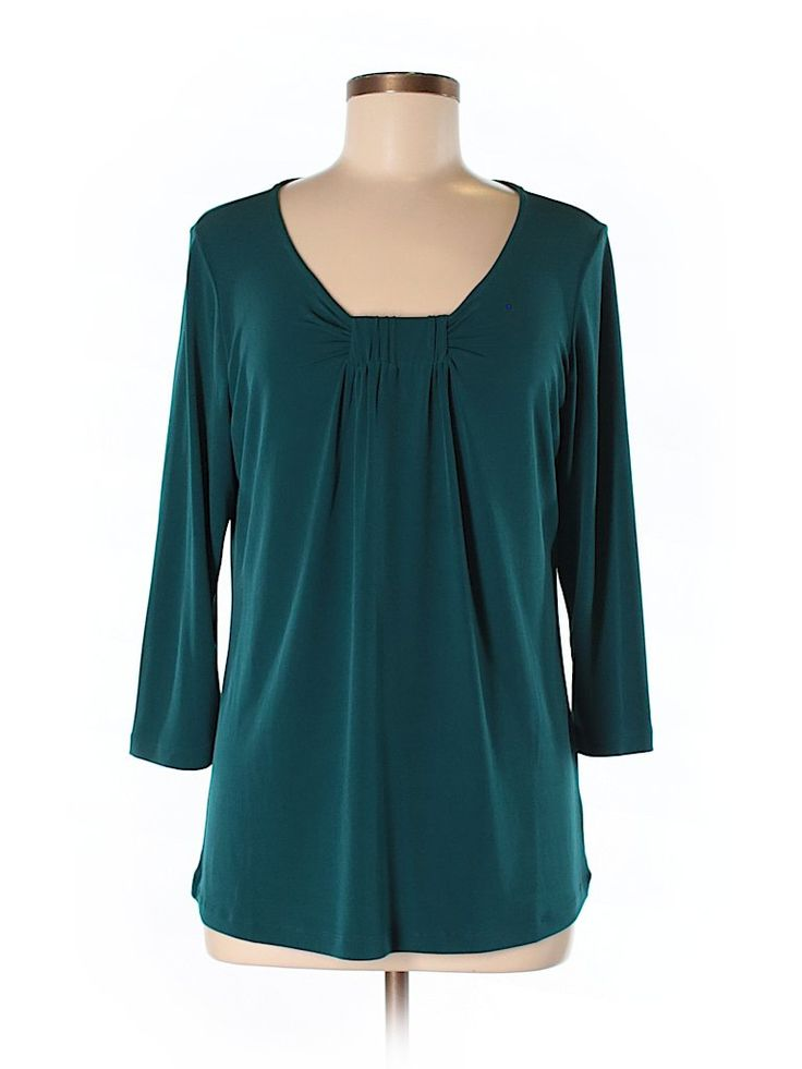 Check it out—Susan Graver 3/4 Sleeve Blouse for $23.99 at thredUP!