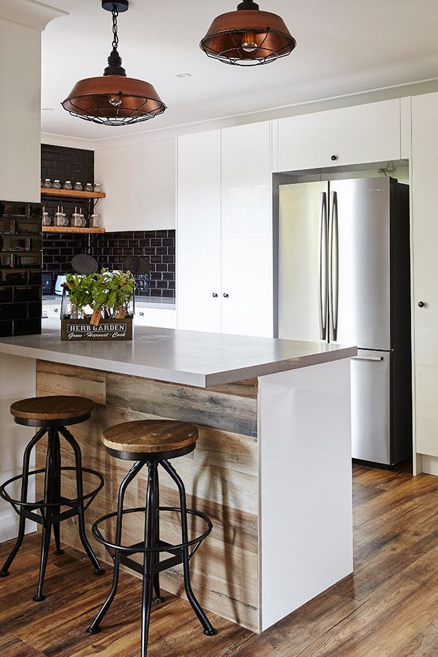 House Rules Charity Home Masters Home Improvement Caesarstone Sleek Concrete (5)