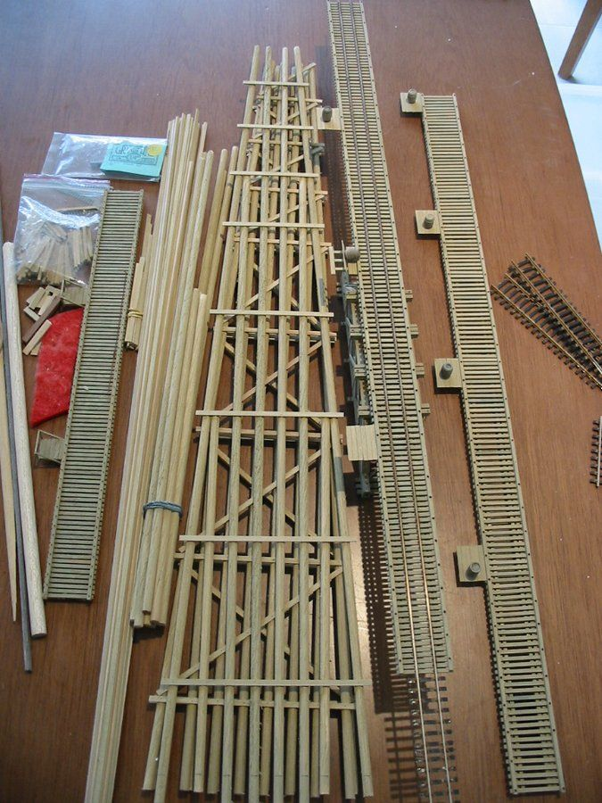 Coffey Gulch Trestle Model Railway Track Plans Model Trains Model Train Layouts