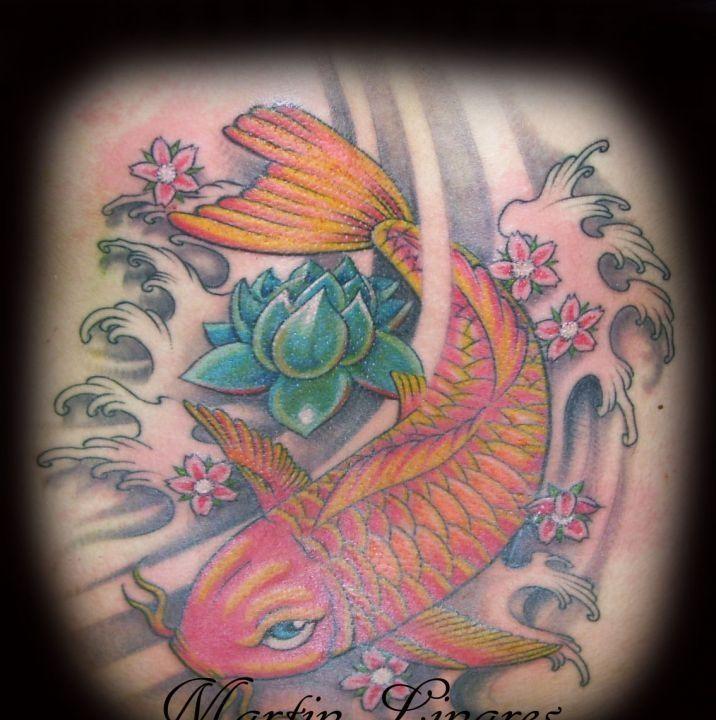 M s de 25 ideas nicas sobre tatuajes de pez en pinterest for Pez koi pequeno