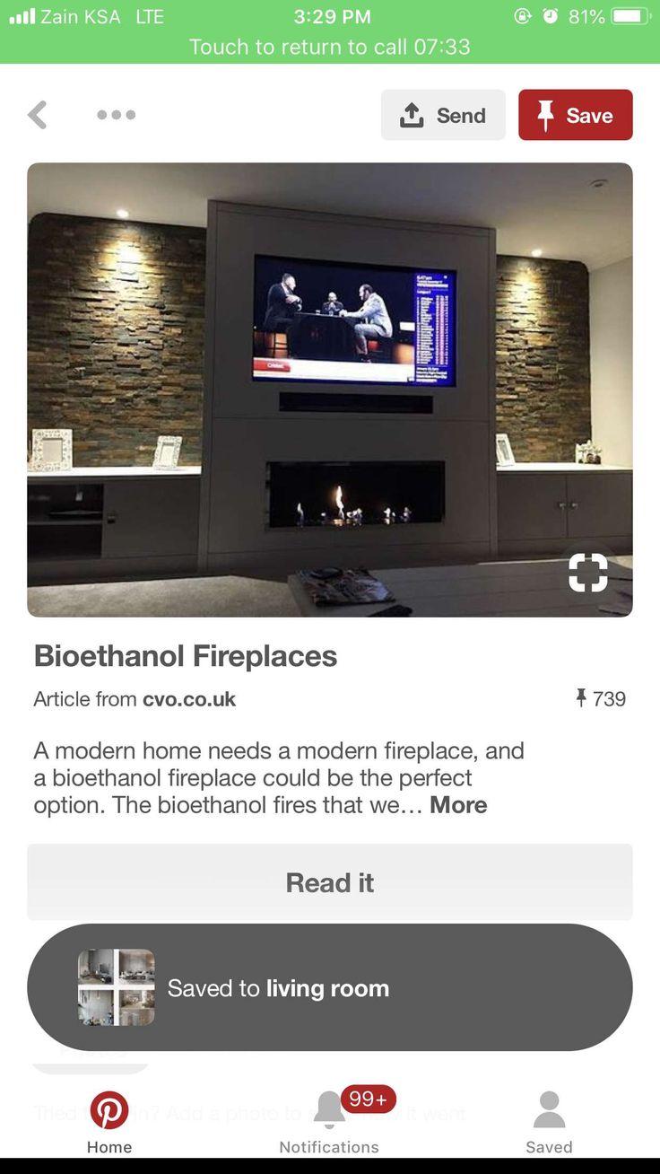 Pin By Re0o0iry On Home Furnitures أثاث المنزل Modern Fireplace Modern House Modern
